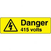 Warn098 - Danger 415 Volts 3